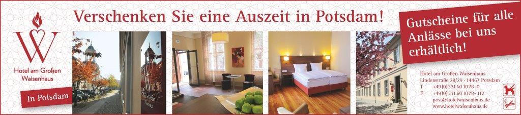 Gutschein Hotel Waisenhaus in Potsdam